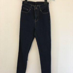 Forever 21 Blue Jeans. Size Jr. 24